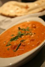 Chicken Tikka Masala (Source: Wikipedia (Chicken Tikka Masala and Naan))