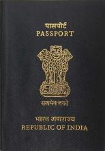 Indian Passport (Source: Wikipedia (Indian Passport))