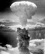 Atomic bombing of Nagasaki on August 9, 1945 (Source: Wikipedia (Nagasaki Bomb))