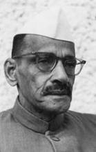 Gulzarilal Nanda (Source: Wikipedia)