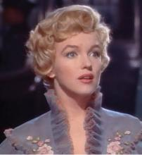 Marilyn Monroe in the trailer for the film The Prince and the Showgirl (Source: Wikipedia)
