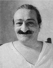 Meher Baba (1957, Meelan Studos) (Source: Wikipedia)