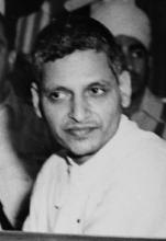Nathuram Godse during M.K.Gandhi's murder trial (Source: Wikipedia)