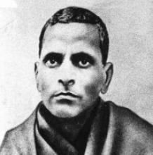 Potti Sreeramulu (Source: Wikipedia (A portrait of Indian revolutionary Potti Sreeramulu))