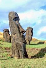 Easter Island Moai (Source: HowStuffWorks (Easter Island Statues))