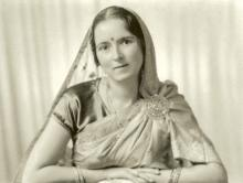 Savitri Devi (1 December, 1937, Calcutta) (Source: The Savitri Devi Archive (Gallery))