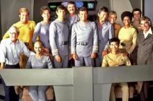 Star Trek cast publicity shot (Source: WIkipedia (Star Trek: The Motion Picture))